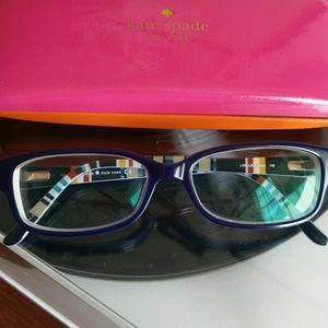 Kate Spade eyeglasses frames with case